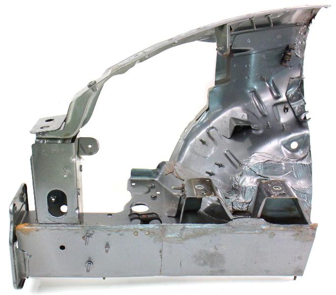 RH Upper & Lower Frame Rail Section End 98-05 VW Beetle Body Horn 1C0 809 592 G