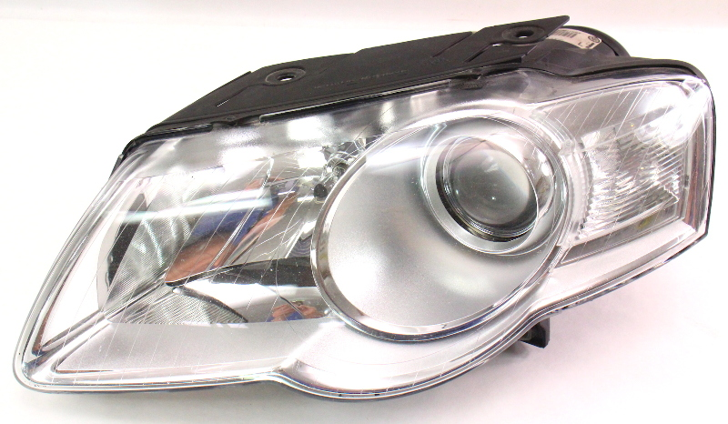 Lh Headlight Head Light Lamp 06 10 Vw Passat B6 Halogen