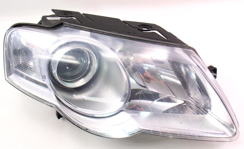 Rh Headlight Head Light Lamp 06 10 Vw Passat B6 Halogen