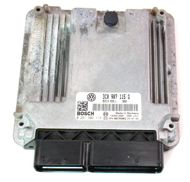 Ecu Ecm Engine Computer 2006 Vw Passat B6 2 0t 3c0 907 115 G