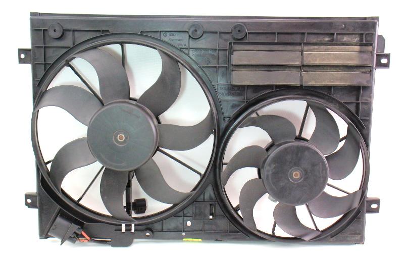Radiator Cooling Fans 06 07 Passat B6 2 0t Gti Genuine