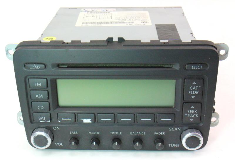 Premium 7 Radio Cd Player 06 09 Vw Jetta Rabbit Gti Mk5