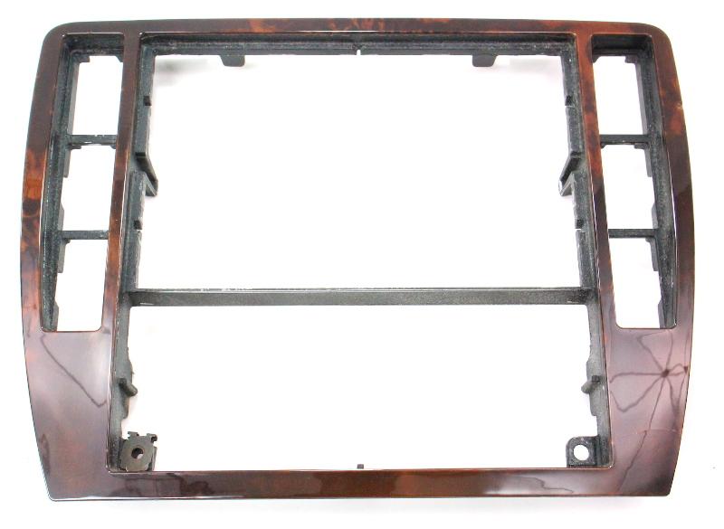 Radio Climate Control Dash Switch Trim Wood 01 05 Vw