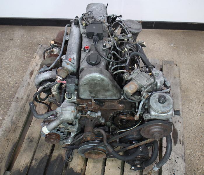 om  mercedes turbo diesel complete engine long block