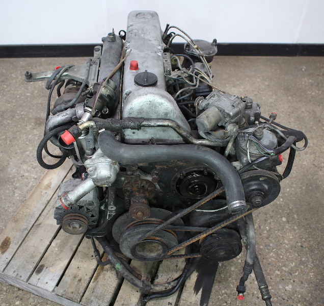 OM617 951 Mercedes Turbo Diesel Complete Engine Long Block ...