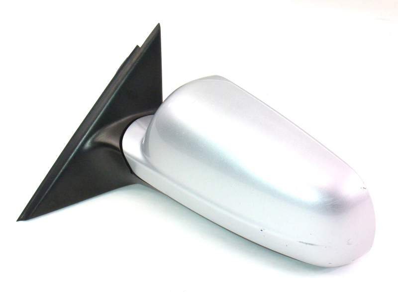 Lh Exterior Side View Door Mirror 98-04 Vw Passat B5 - La7w Reflex Silver