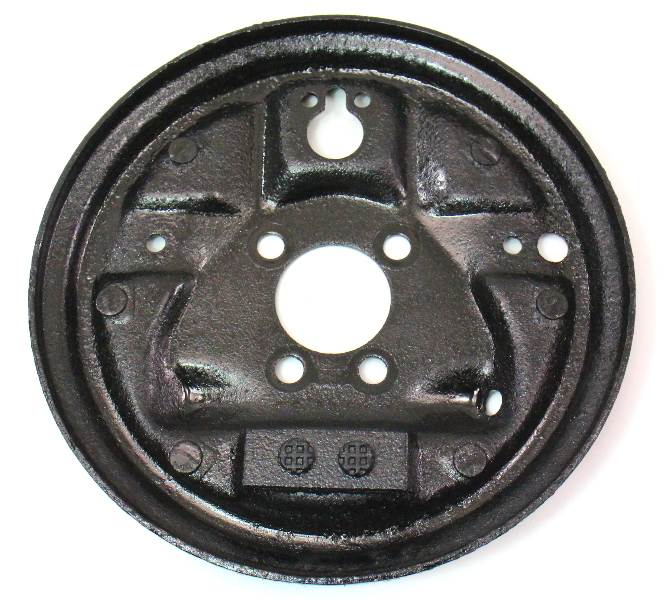 Rh Rear Drum Brake Backing Plate Vw Jetta Golf Rabbit