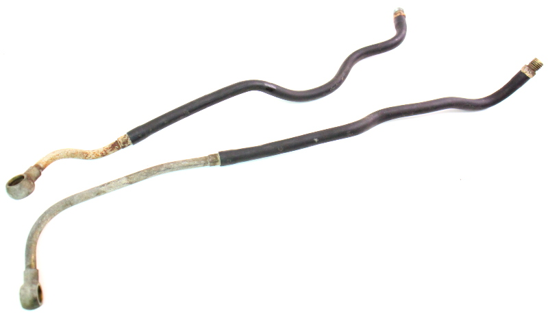 engine bay fuel feed  u0026 return lines hoses 85-87 vw jetta golf mk2 8v
