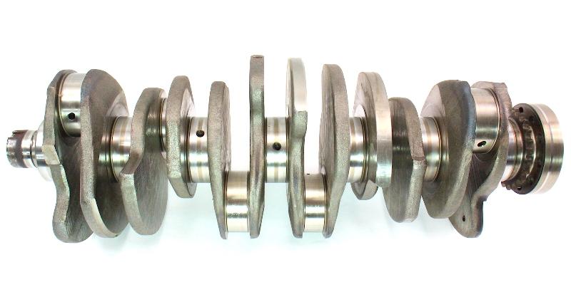 engine crank shaft 04 07 vw touareg 3 2 3 2l v6 vr6 genuine. Black Bedroom Furniture Sets. Home Design Ideas