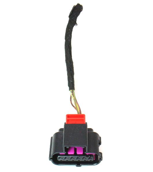 Gas Pedal Wiring Harness Pigtail Plug 09 12 Audi A4 B8