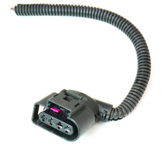 Wiper Motor Wiring Harness Pigtail Plug 09 14 Audi A4 S4