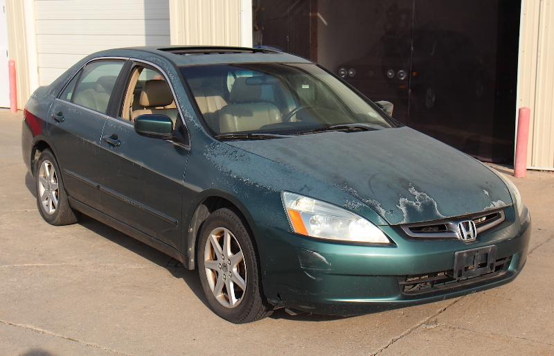 Cp Honda Accord Ex V K Miles Automatic Transmission Slipping Iowa on 2003 Honda Accord Trunk Leak