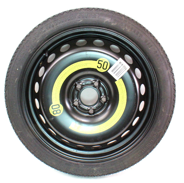 19 spare tire wheel donut 09 16 audi a4 s4 b8 genuine 8k0 601 027 carparts4sale inc. Black Bedroom Furniture Sets. Home Design Ideas