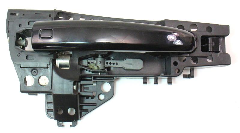 Rh Front Exterior Door Handle 09 12 Audi A4 S4 B8 Ly9b