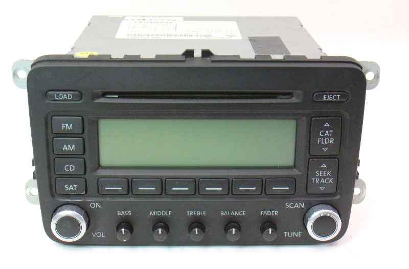 Premium 7 Radio Cd Player 06 10 Vw Jetta Rabbit Gti Mk5