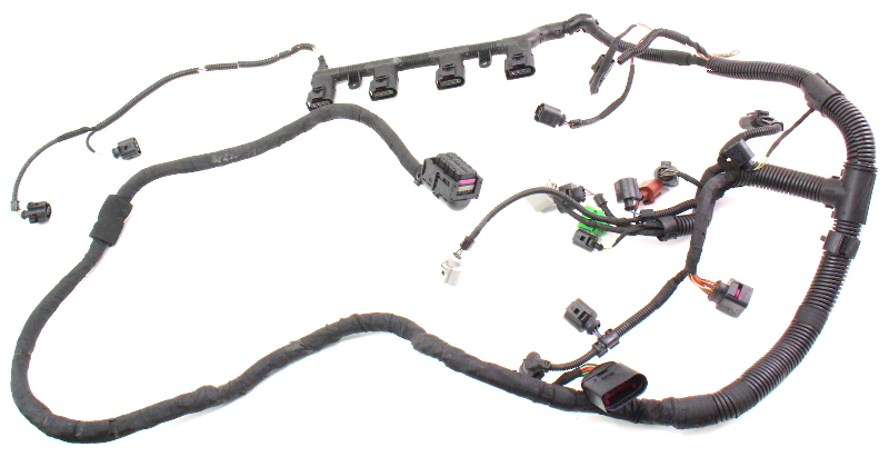 2 0t Engine Wiring Harness 2007 Vw Gti Mk5 Fsi Bpy Genuine