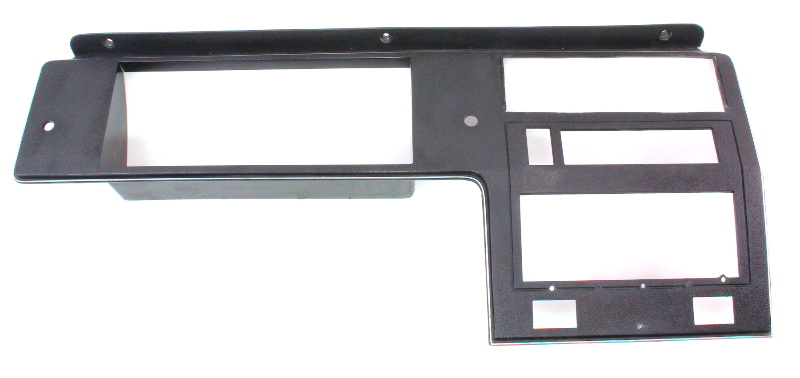 Dash cluster radio surround trim panel vw rabbit