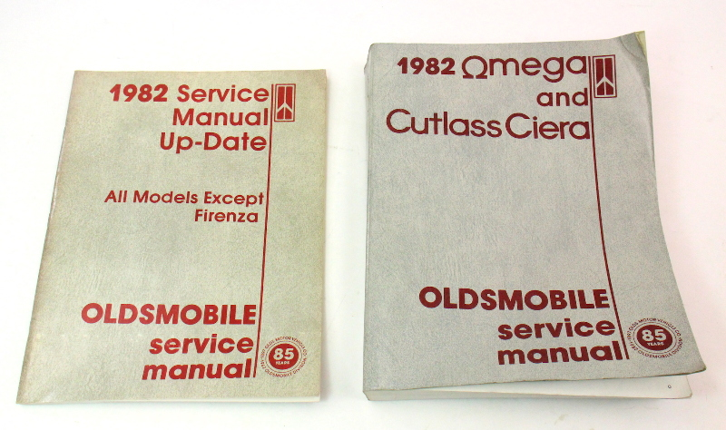 1982 Oldsmobile Factory Service Manual Amp Update