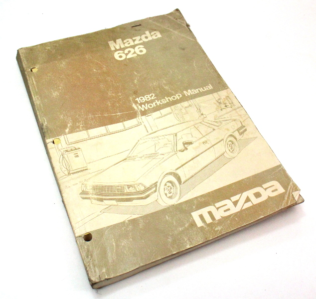 1982 Mazda 626 Workshop Service Manual 1052-10-81G