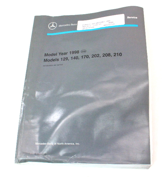 Cp Mercedes Benz Service Manual Model Year