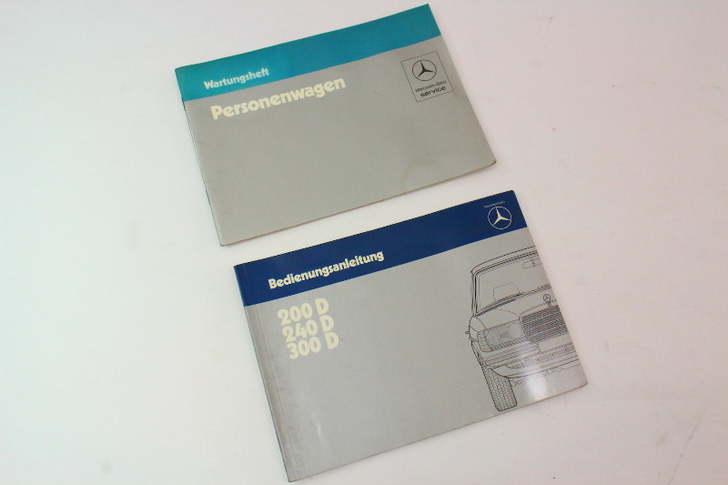 Mercedes Operating Instructions Owners Manual 200 240 300