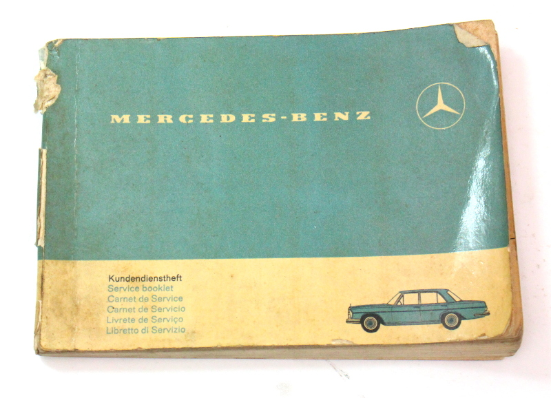 1966 Mercedes Operating Instructions Owners Manual Book - KD 00 131 6013 1 966 100