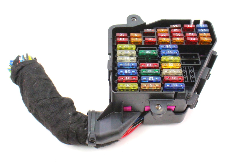 Under Dash Fuse Box Panel  U0026 Pigtail 99-05 Vw Jetta Golf Gti Beetle Mk4 Bew Tdi