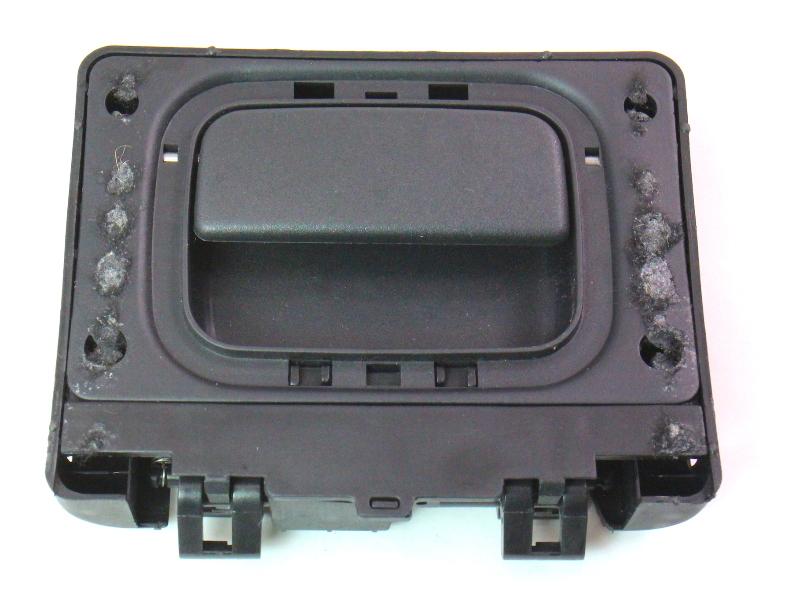 Trunk Side Panel Door Handle 02-08 Audi A4 S4 B6 B7 Black - Genuine