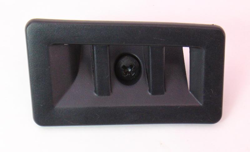 Black Center Rear Seat Belt Guide Trim 02-08 Audi A4 S4 B6 B7 Genuine