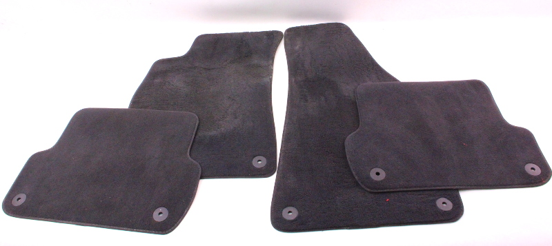 Floor Mats Carpet 05-08 Audi A4 S4 B7 - Genuine
