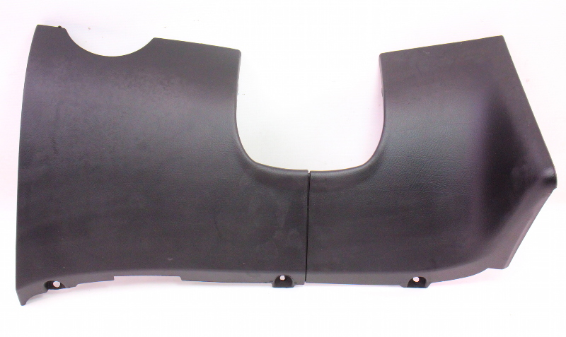 Lh Lower Dash Knee Panel Vw Jetta Golf Gti Mk4 Black 1j1