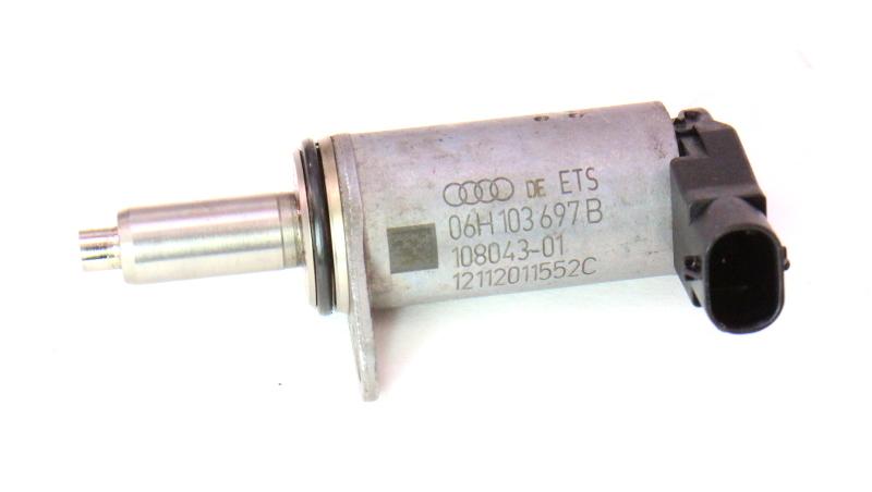 Cam Solenoid N205 09-12 Audi A4 A5 B8 - 2.0T CAEB - Genuine - 06H 103 697 B
