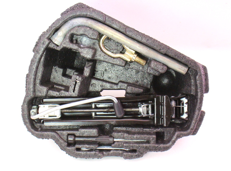 Trunk Tool Kit 99 05 Vw Jetta Golf Mk4 Jack Lug Wrench Tow