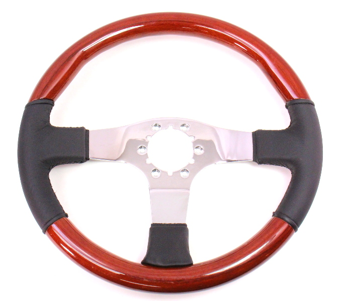 wood steering wheel nos vw rabbit jetta golf bmw Volvo Penta Engine Diagram Volvo Penta Trim Switch