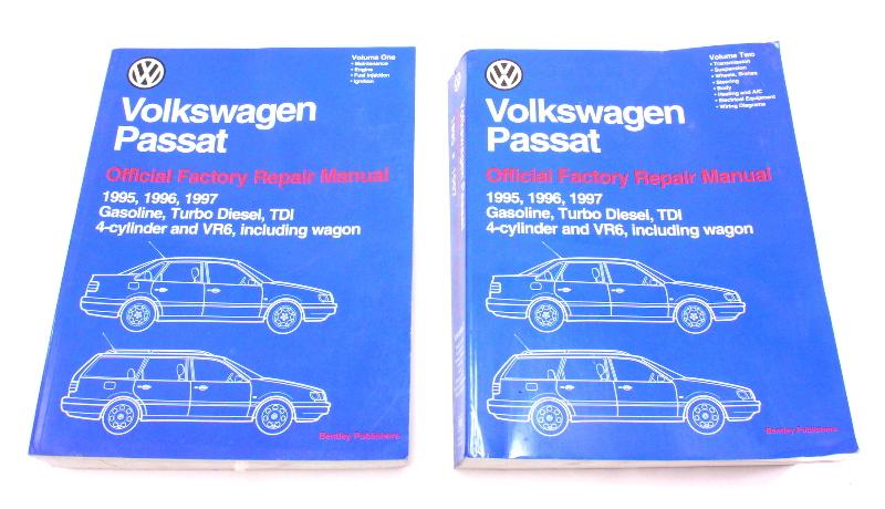 95 97 Vw Passat B4 Vol 1 Amp 2 Official Bentley Repair