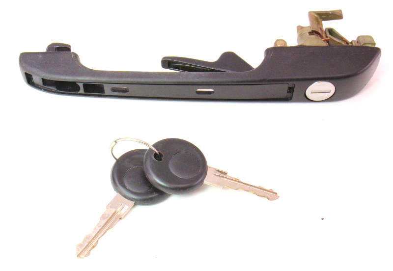 Lh Door Handle Amp Keys Set 75 84 Vw Jetta Rabbit Mk1