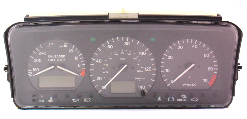 gauge cluster speedometer 95 97 vw passat b4 vr6 mt 3a0