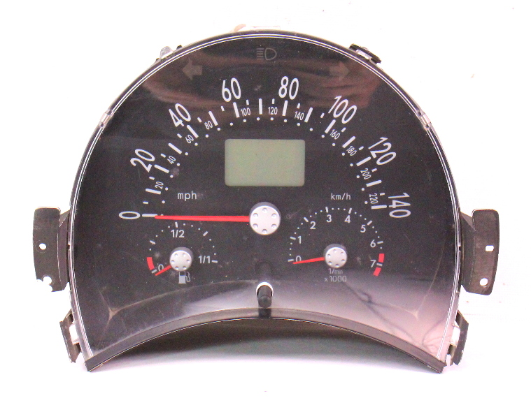 Gauge Instrument Speedometer Cluster 2001 Vw Beetle