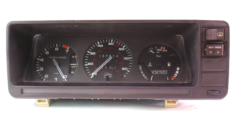 Gauge Cluster Speedometer 80 83 Audi 5000 Turbo 437 919