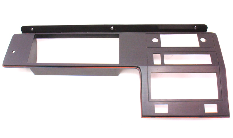 Dash Radio Surround Trim Panel 83 84 Vw Rabbit Gti Mk1 Red