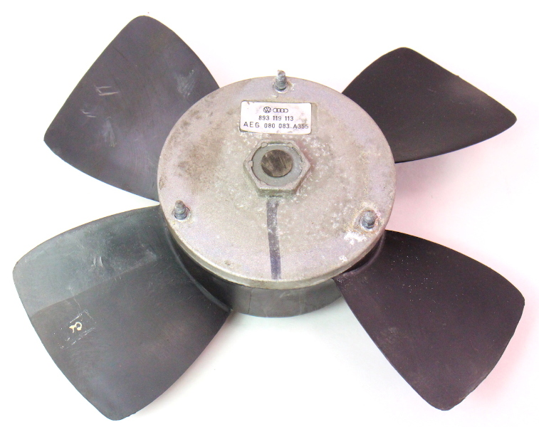 Electric Radiator Fan 90-94 VW Passat B3 16v - Genuine - 893 119 113
