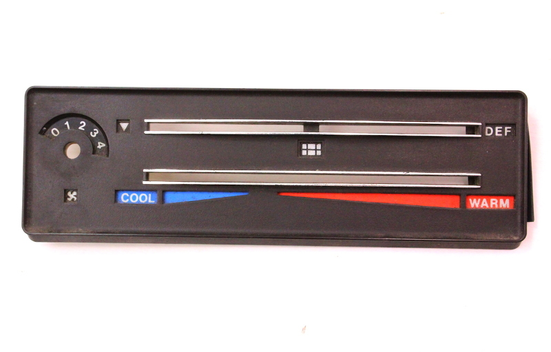 Climate Temp Control Trim Panel 1979 Audi 80 - 811 820 073 / 321 919 395