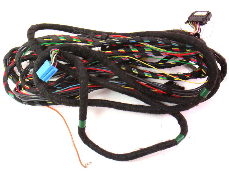 Cd Disc Changer Wiring Harness 93-99 Vw Jetta Golf Gti Cabrio Mk3