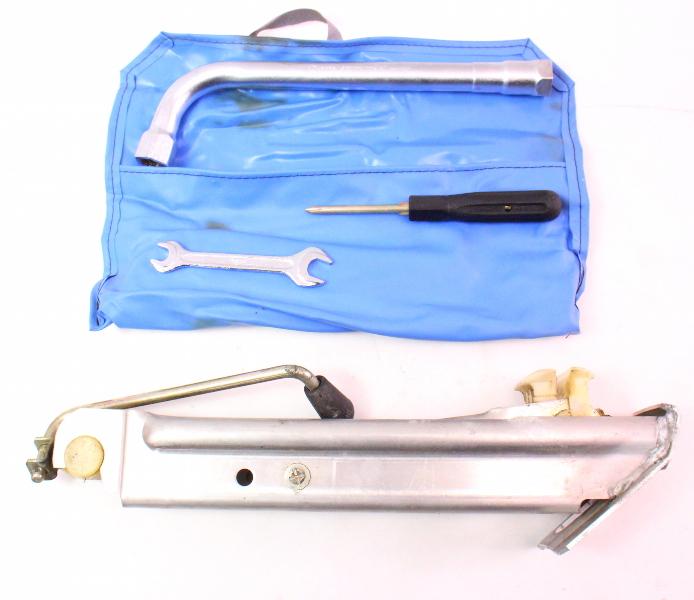 Spare Tire Trunk Tool Kit Jack Lug Wrench Audi 100 - Genuine - 443 011 031