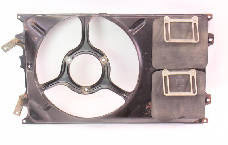 Radiator Cooling Fan Shroud 85 93 Vw Cabriolet 87 89