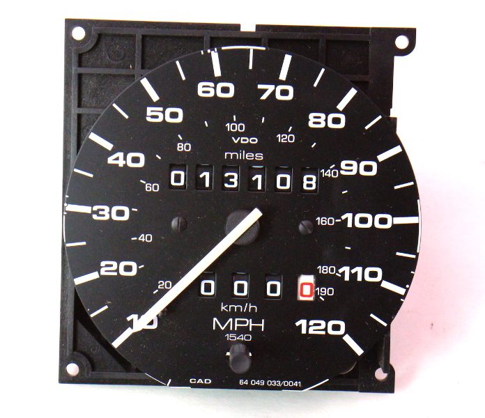 Gauge Cluster Speedometer 85 92 Vw Jetta Golf Gti Mk2 Genuine