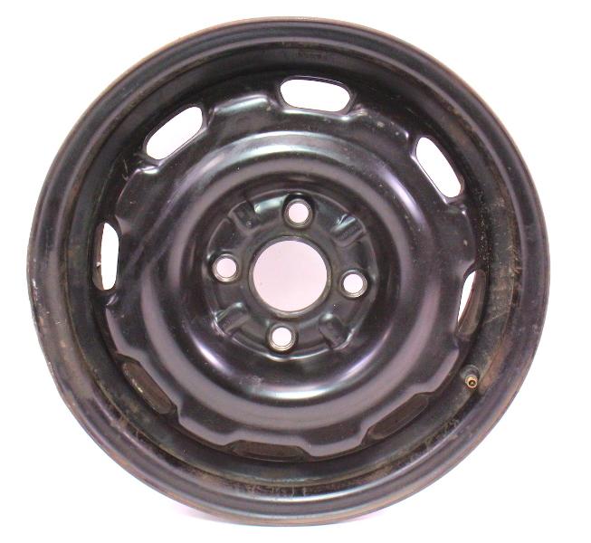 """14"""" x 6"""" Steel Wheel 93-99 VW Jetta Golf GTI Cabrio MK3 - 1HM 601 025 A/B"""