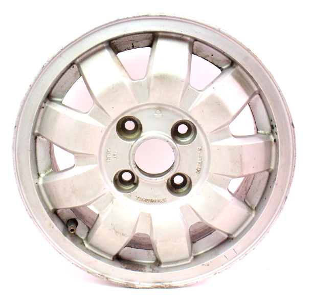 "13""x5"" Alloy Wheel Rim 4x100 75-84 VW Rabbit Jetta Scirocco MK1 - 171 601 025 J"