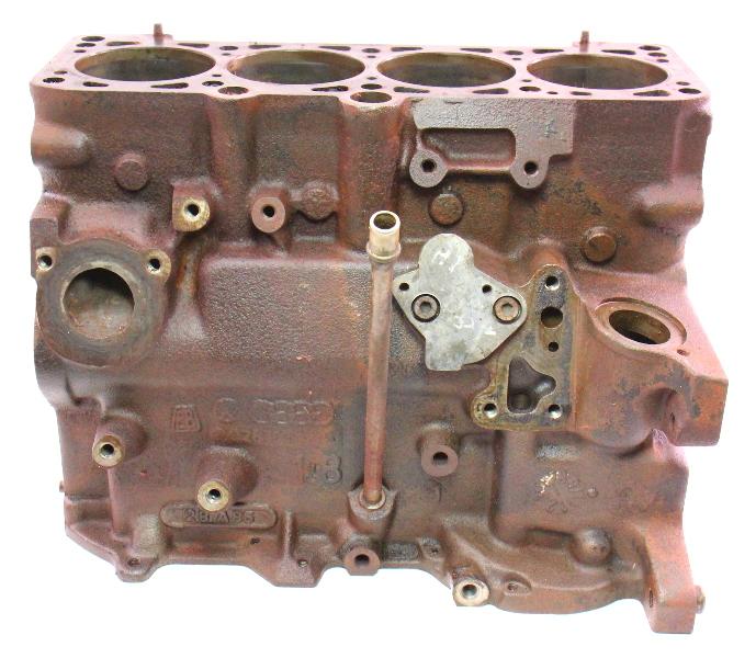 Vw Air Cooled Engine Codes List: 1.8 8V HT Engine Motor Bare Cylinder Block VW Jetta Golf