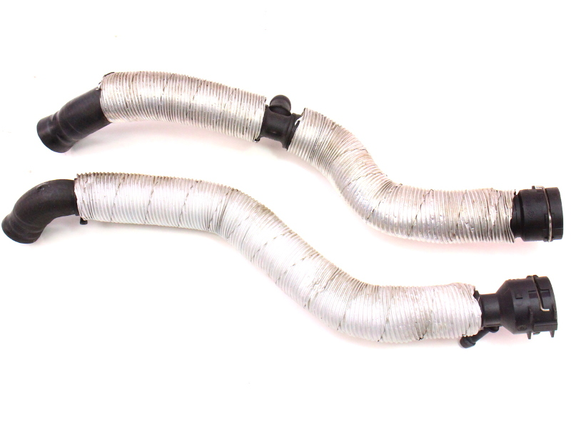 Firewall Heater Core Coolant Hose Lines 06-10 VW Passat B6 2.0T BPY - Genuine